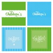 Children's day — Stock Vector