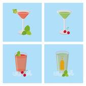 Beverages — Stock Vector