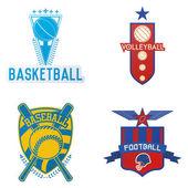 Sport emblem — Stock Vector
