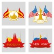 Famous places — Stock Vector #59164515