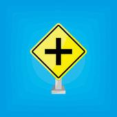 Dopravní signál — Stock vektor