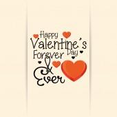 Happy valentine's day — Stock vektor