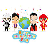 Barnens dag — Stockvektor