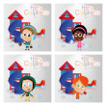 Happy children's day — Stock Vector #67108739