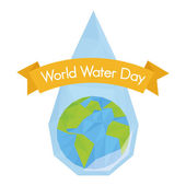 World water day — Stock Vector
