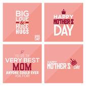 Happy mother's day — Vector de stock