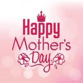 Happy mother's day — Wektor stockowy