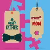 Родительский день — Cтоковый вектор