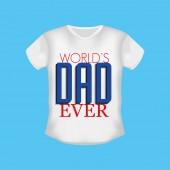 Giorno del padre felice — Vettoriale Stock