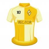 Soccer shirt — Stock Vector