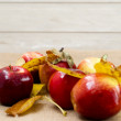 Red fresh apples — Stock Photo #55484239