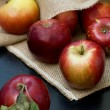Red fresh apples — Stock Photo #55717245
