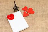 Открытка на день Святого Валентина — Стоковое фото