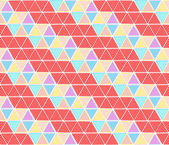 Hexagon seamless pattern background — Stock Vector