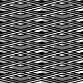 Noir et blanc motif carré sans soudure — Vecteur