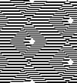 Black and white geometric stripe seamless pattern abstract backg — Stock Vector