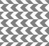 Black and white geometric seamless pattern abstract background — Stock Vector