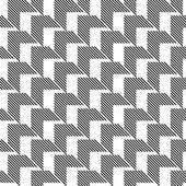 черно-белый геометрический бесшовный фон резюме образца — Cтоковый вектор