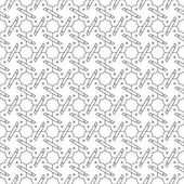 Black and white seamless pattern background. — Stock Vector