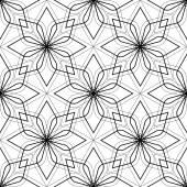 nahtlose rautenmuster abstrakte geometrische schwarz wei bac stockvektor ostapius 55167931. Black Bedroom Furniture Sets. Home Design Ideas