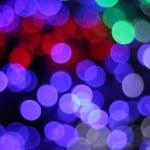 Colorful defocused bokeh lights background. — Stock Photo #61508359