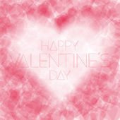 Valentines day background. — Stock Vector