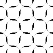 Black and white seamless pattern with stripe line, abstract background. — Stockvektor