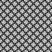 Black and white geometric seamless pattern, modern stylish. — Stock vektor