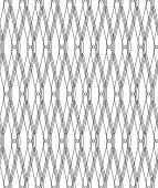 Black and white geometric seamless pattern modern stylish, abstr — Stock Vector