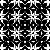 Black and white seamless pattern, abstract background. — Stock Vector