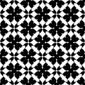 Black and white geometric seamless pattern, abstract background. — Stock Vector