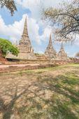 Wat Phra Srisanphet in Ayutthaya, Thailand. — Fotografia Stock