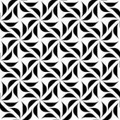 Siyah ve beyaz geometrik seamless modeli, arka plan. — Stok Vektör