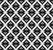 Black and white geometric seamless pattern with stripe, abstract background. — Stock Vector