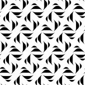 Black and white geometric seamless pattern, abstract background. — Cтоковый вектор