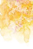 Flower watercolor illustration. — Stock Photo