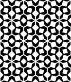 黑色和白色无缝的几何图案,抽象背景. — 图库矢量图片