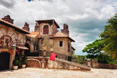 Ancient village Altos de Chavon - Colonial town reconstructed in Dominican Republic. Casa de Campo, La Romana, Dominican Republic. Vocation and travel. tropical seaside resort — Stock Photo