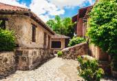 Ancient village Altos de Chavon - Colonial town reconstructed in Dominican Republic. Casa de Campo, La Romana, Dominican Republic. Ponderosa-style, tropical seaside resort — Stock Photo