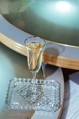 Svatební sklenice šampaňského — Stock fotografie
