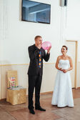 Sadece evli ve ilk dansları dans güzel çift — Stok fotoğraf