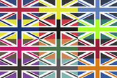 Alternative UK Flags — Stock Vector