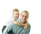 Father and son — Stockfoto