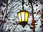 Lanterna strada d'epoca — Foto Stock