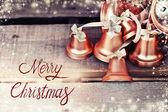 Christmas holiday bells — Stock Photo