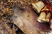 Merry Christmas bells — Stock Photo