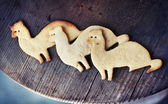 Christmas sugar cookies — Stock Photo