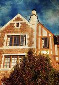 Haus im englischen stil — Stockfoto