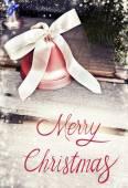 Christmas holiday bell — Stock Photo