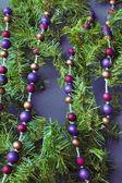 новогодние украшения на елку — Стоковое фото